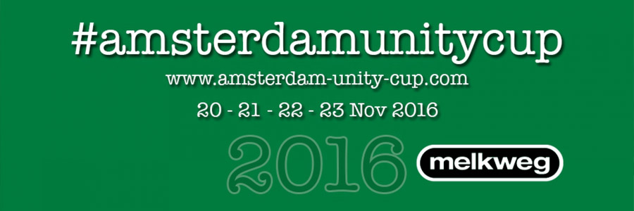 UNITY CUP AMSTERDAM, THE NETHERLANDS, 20th-21st-22nd-23rd OF NOVEMBER 2016